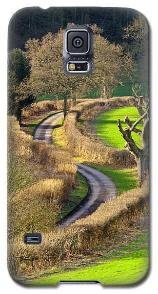 Winding Country Lane Galaxy S5 Case