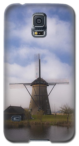 Windmill In Kinderdijk Netherlands Galaxy S5 Case