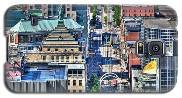 0024 Visual Highs Of The Queen City ...main St... Galaxy S5 Case