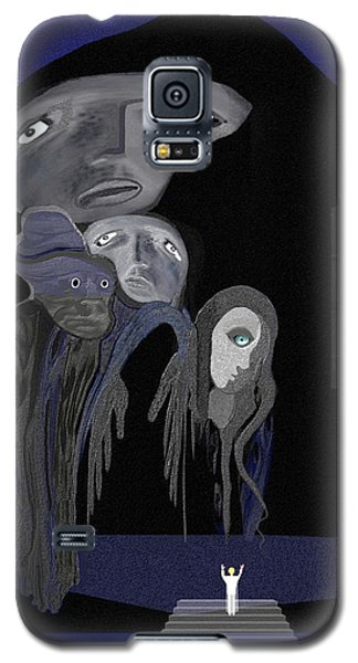 004 - Arrival Of The Gods  Galaxy S5 Case by Irmgard Schoendorf Welch