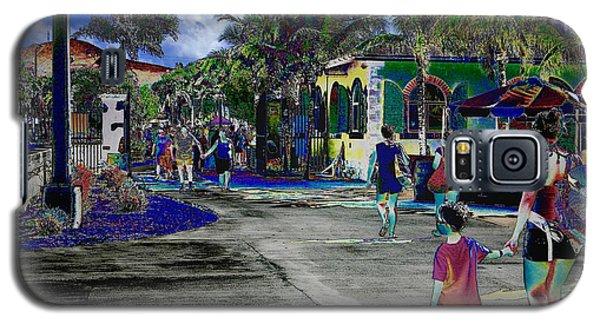 St Croix Stencil  Galaxy S5 Case