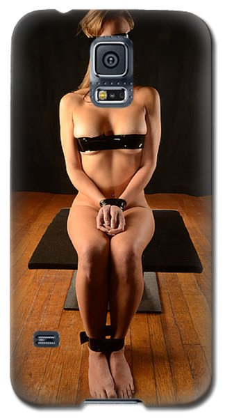 0098 Beautiful Nude Woman In Bondage Tape Galaxy S5 Case