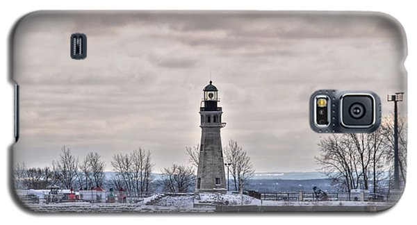 01 Winter Light House Galaxy S5 Case by Michael Frank Jr