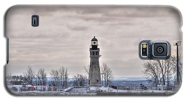 01 Winter Light House Galaxy S5 Case