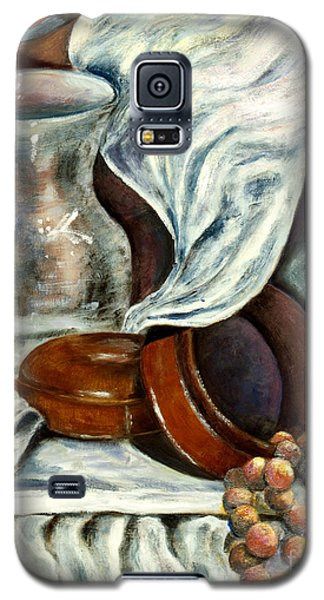 01298 Jewelry Box Galaxy S5 Case by AnneKarin Glass