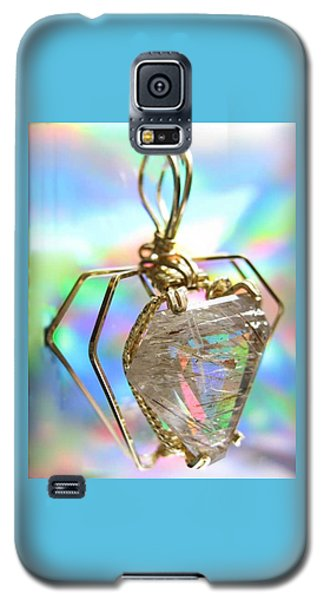 0216 Golden Needles Galaxy S5 Case