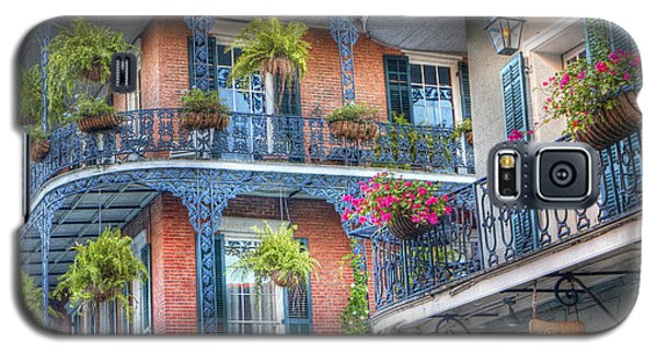 0255 Balconies - New Orleans Galaxy S5 Case