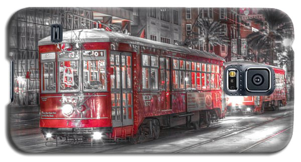 0271 New Orleans Street Car Galaxy S5 Case