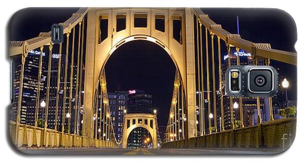 0304 Roberto Clemente Bridge Pittsburgh Galaxy S5 Case