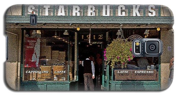 0370 First Starbucks Galaxy S5 Case