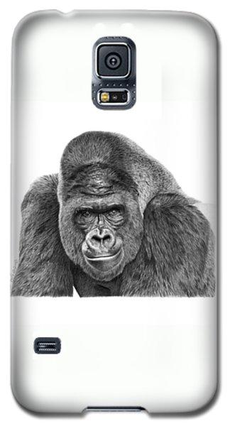 042 - Gomer The Silverback Gorilla Galaxy S5 Case