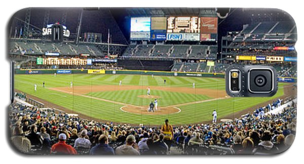 0434 Safeco Field Panoramic Galaxy S5 Case
