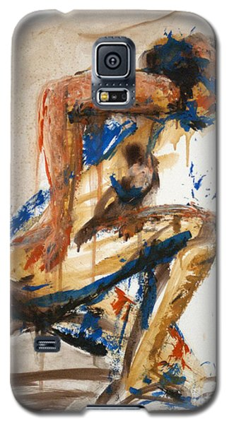 04864 Runner Galaxy S5 Case by AnneKarin Glass