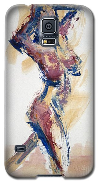 04865 Heady Galaxy S5 Case by AnneKarin Glass