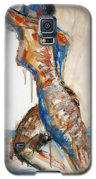 04866 Racer Galaxy S5 Case by AnneKarin Glass