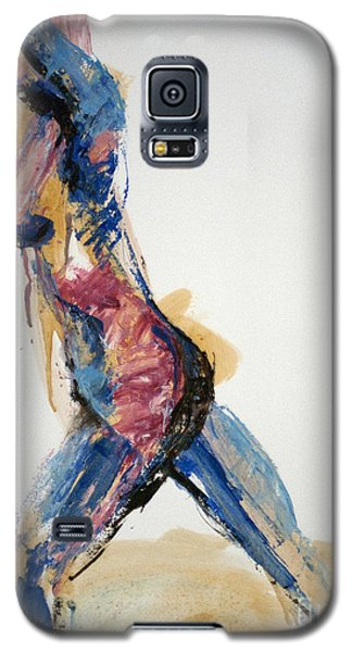 04867 Full Speed Ahead Galaxy S5 Case by AnneKarin Glass