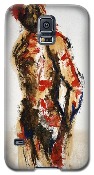 04870 Serious Soldier Galaxy S5 Case by AnneKarin Glass