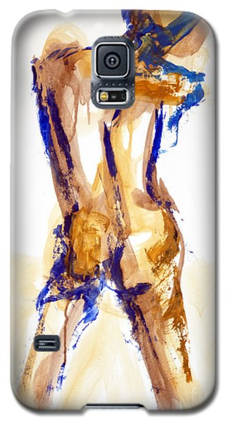 04879 Free Thinker Galaxy S5 Case by AnneKarin Glass