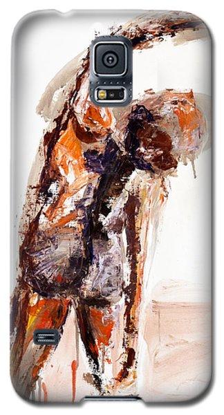 04891 Taken Aback Galaxy S5 Case by AnneKarin Glass