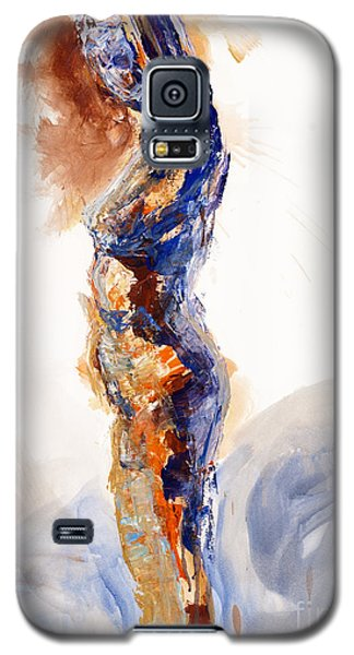 04894 Stretch Up Galaxy S5 Case by AnneKarin Glass