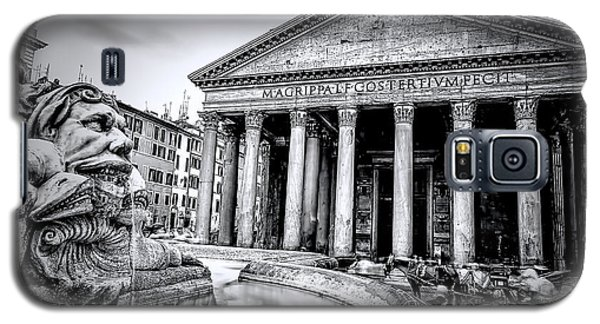 0786 The Pantheon Black And White Galaxy S5 Case