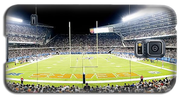 0856 Soldier Field Panoramic Galaxy S5 Case