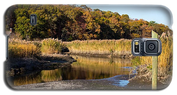 Fall Foliage At Nissequogue River Galaxy S5 Case