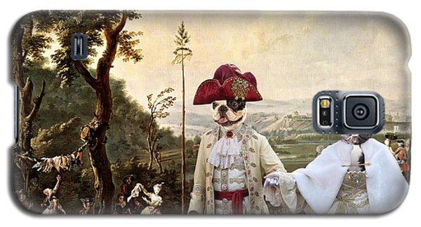 French Bulldog Art Canvas Print Galaxy S5 Case