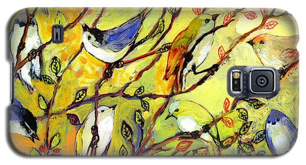 16 Birds Galaxy S5 Case by Jennifer Lommers