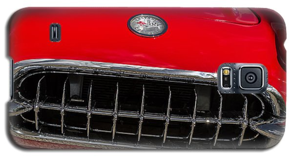 1958 Chevrolet Corvette Grille Galaxy S5 Case