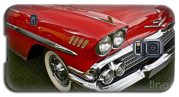 1958 Chevy Impala Galaxy S5 Case by Linda Bianic