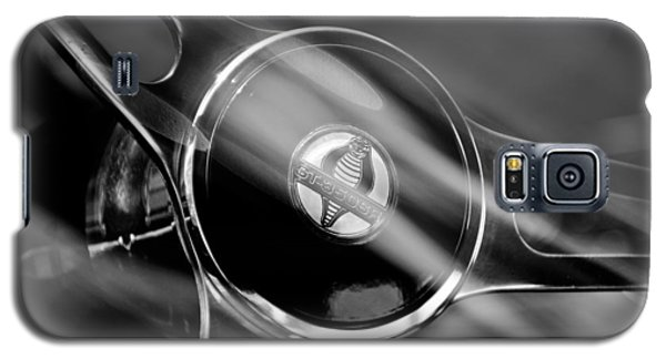 1965 Ford Mustang Cobra Emblem Steering Wheel Galaxy S5 Case