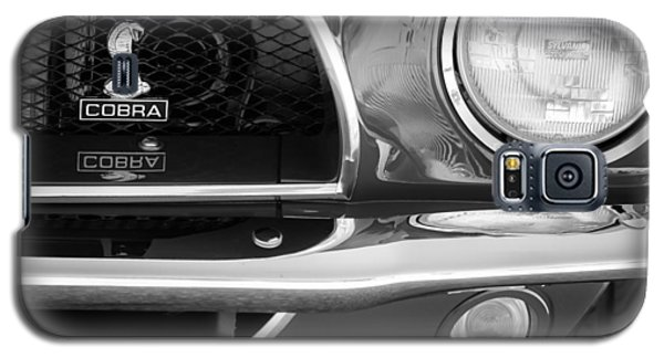 1968 Ford Mustang Fastback 427 Ci Cobra Grille Emblem Galaxy S5 Case by Jill Reger