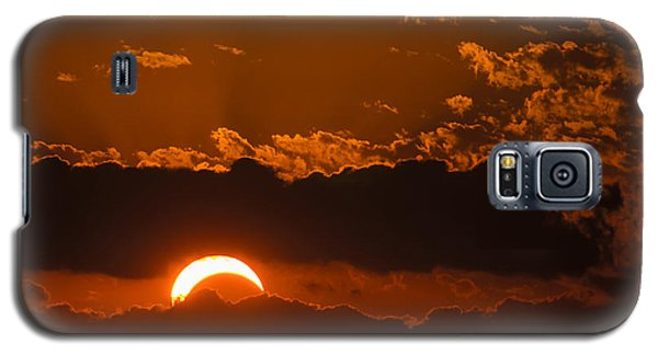 2012 Solar Eclipse Galaxy S5 Case