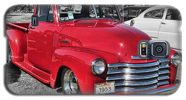 '53 Chevy Truck Galaxy S5 Case