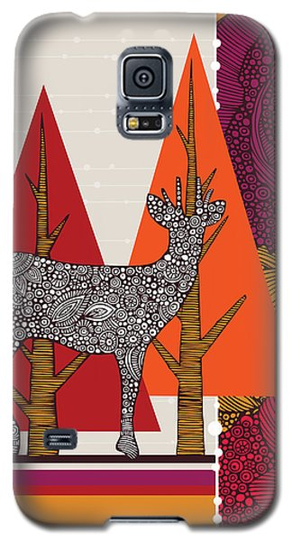 A Deer In Woodland Galaxy S5 Case