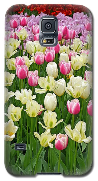 A Field Of Tulips Galaxy S5 Case