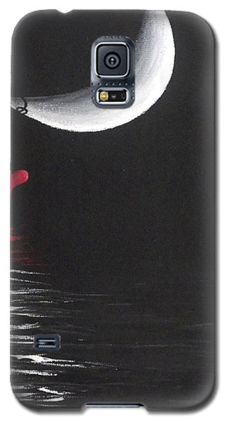 A Love Story No 13 Galaxy S5 Case by Oddball Art Co by Lizzy Love