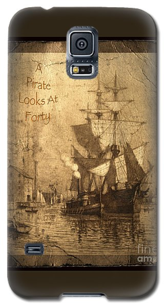 Parrot Galaxy S5 Case - A Pirate Looks At Forty by John Stephens