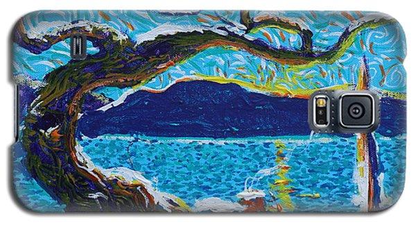 A River's Snow Galaxy S5 Case