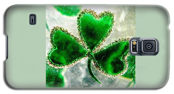 A Shamrock On Ice Galaxy S5 Case
