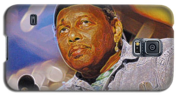 Galaxy S5 Case featuring the photograph Aaron Neville by Don Olea