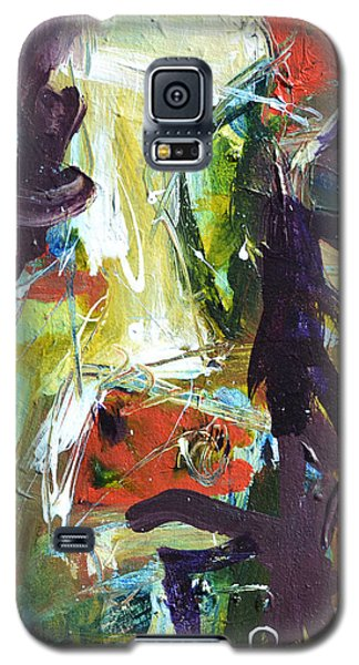 Abstract Cow Galaxy S5 Case