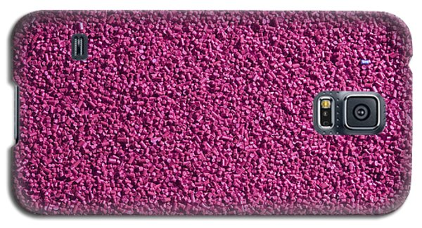 Abstract Texture - Purple Galaxy S5 Case