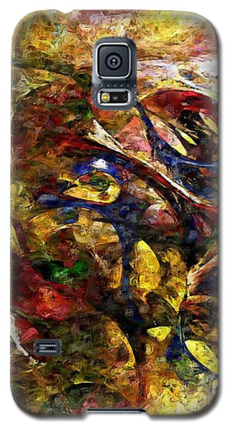 Galaxy S5 Case featuring the digital art Abstraction 042714 by David Lane