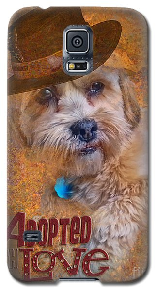 Adopted With Love Galaxy S5 Case by Kathy Tarochione