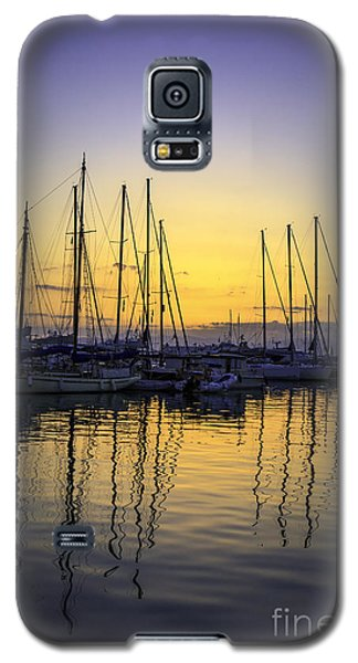 Aegina Harbour Sunset Galaxy S5 Case