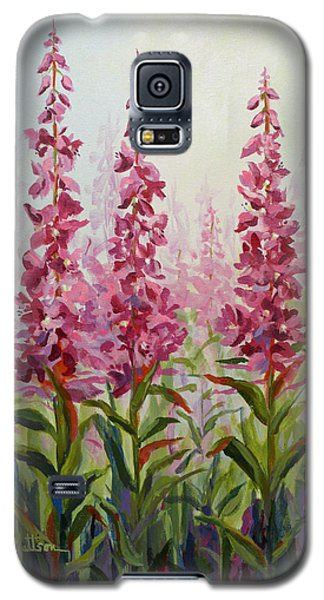 Alaska Fireweed Galaxy S5 Case