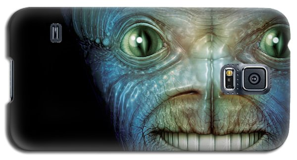 Alien Face Galaxy S5 Case