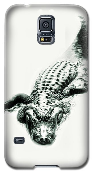 Alligator Galaxy S5 Case by Gregory Dyer